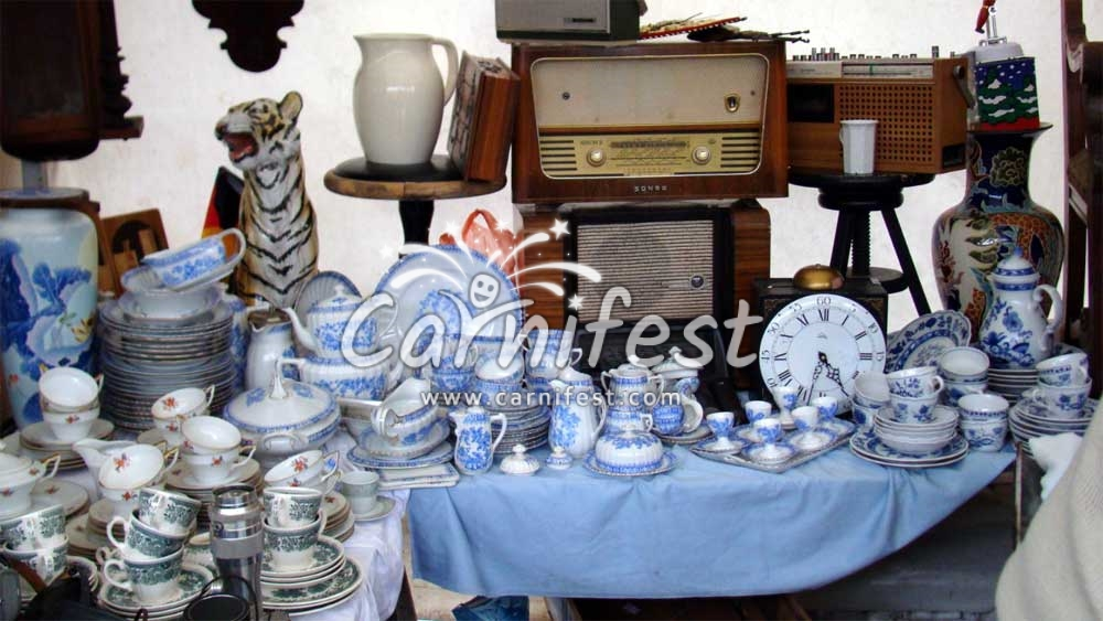 Flea Market in Berlin - CarniFest Online Photo © All Rights Reserved