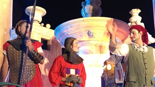 knight festival in the old city of Jerusalem